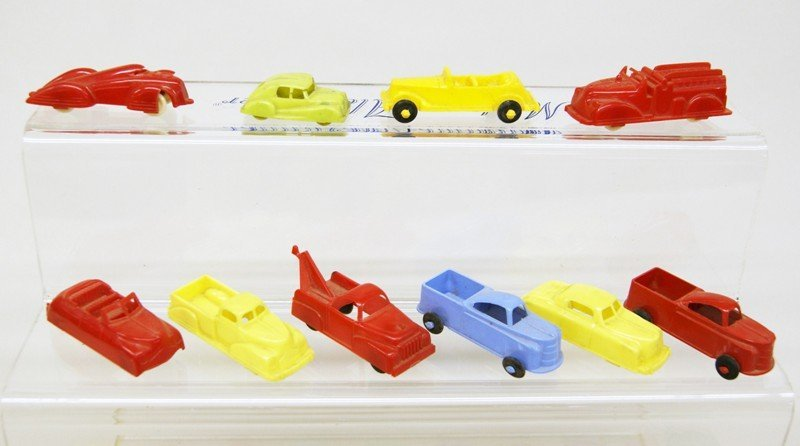 Twenty-five Plastic Vehicles - 4