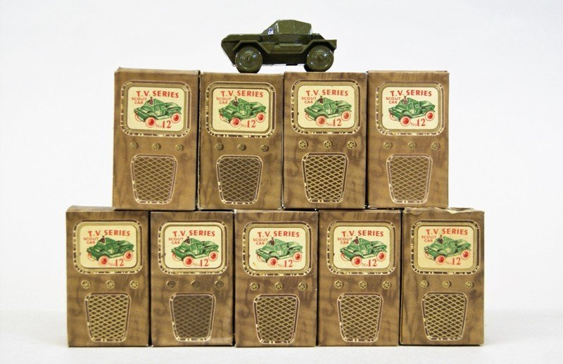 Ten Benros TV Series Scout Cars