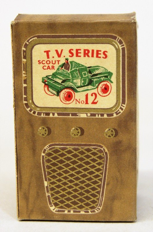 Ten Benros TV Series Scout Cars - 2
