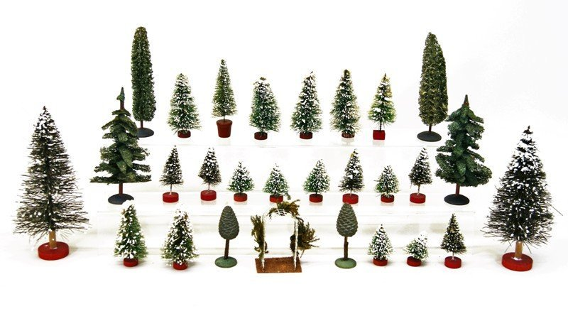 Large Group Christmas Trees