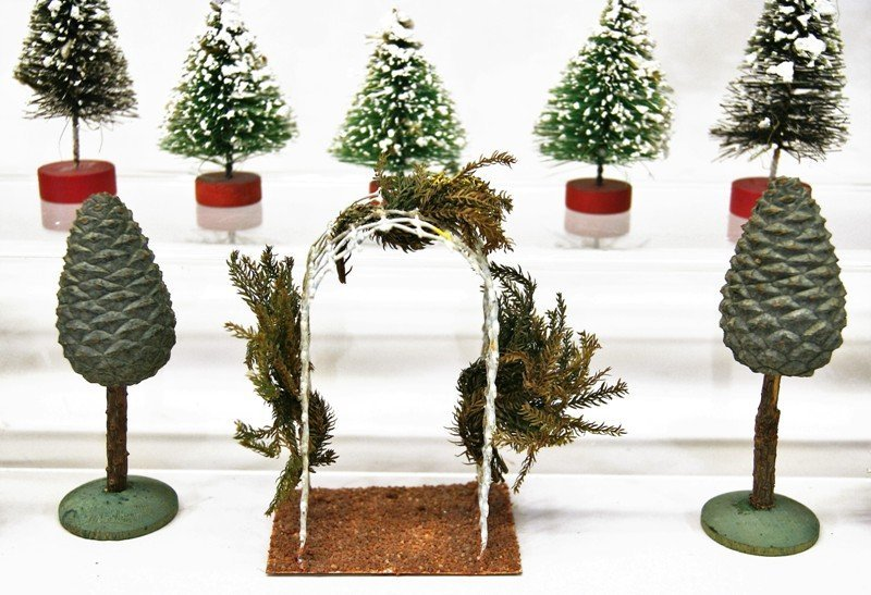 Large Group Christmas Trees - 4