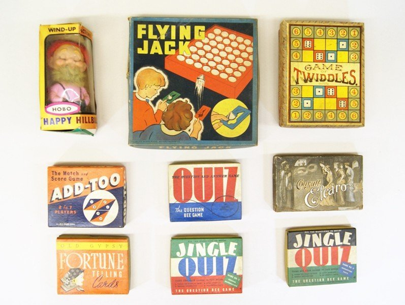 Alps Wind-up and Vintage Games