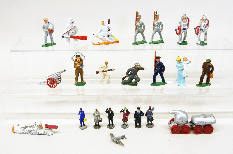 Cast Lead Toy Figures
