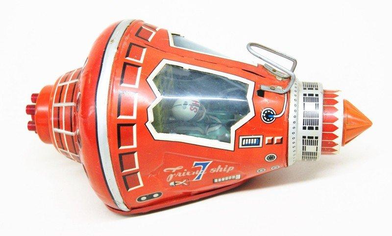 SH Mercury Capsule Tin Toy - 2