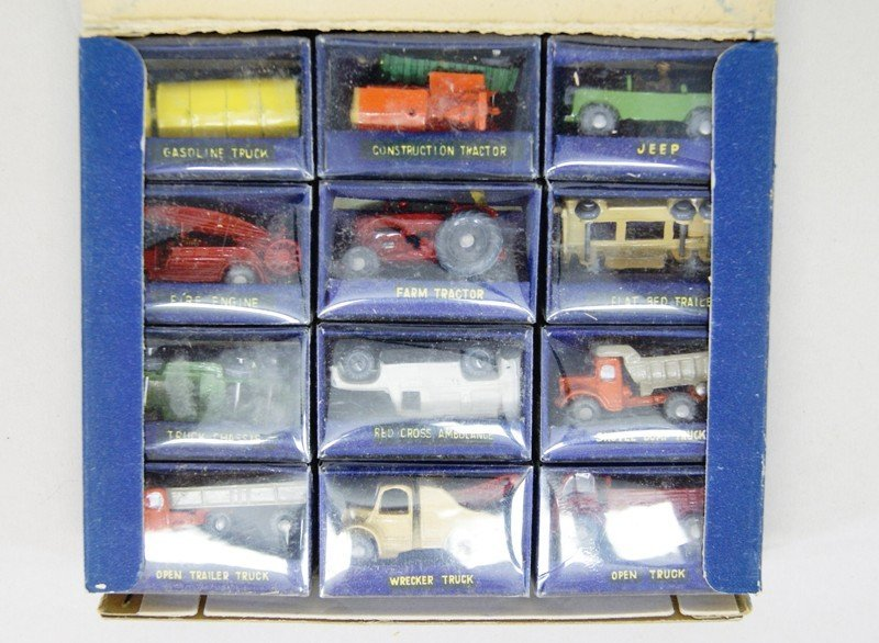 Three Store Boxes of Miniature Vehicles - 3