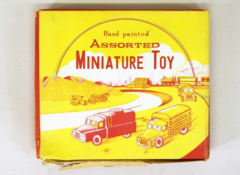 Three Store Boxes of Miniature Vehicles - 6