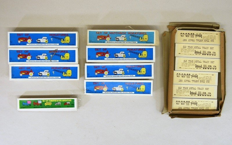 Shackman Store Box Train Sets and Others