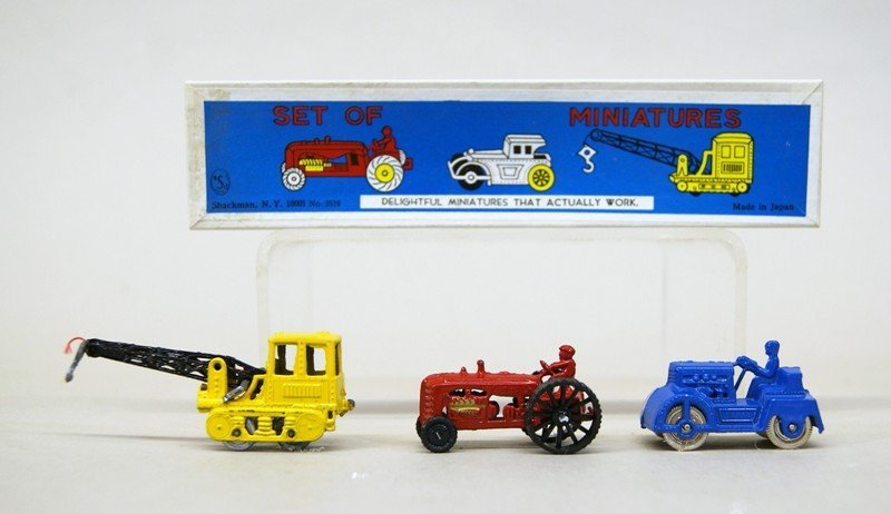 Shackman Store Box Train Sets and Others - 2