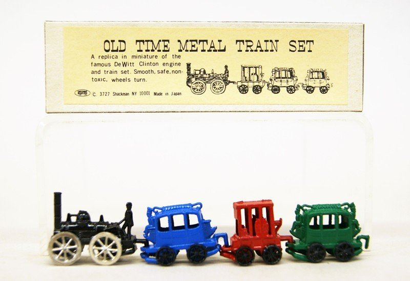 Shackman Store Box Train Sets and Others - 3