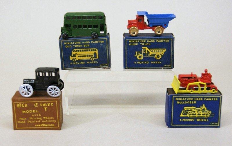 Vintage Miniature Vehicles and Gas Pumps - 3