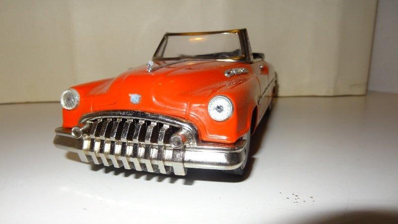 Vintage 1950 Buick Super Tin Friction Car - 4