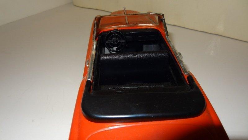 Vintage 1950 Buick Super Tin Friction Car - 6