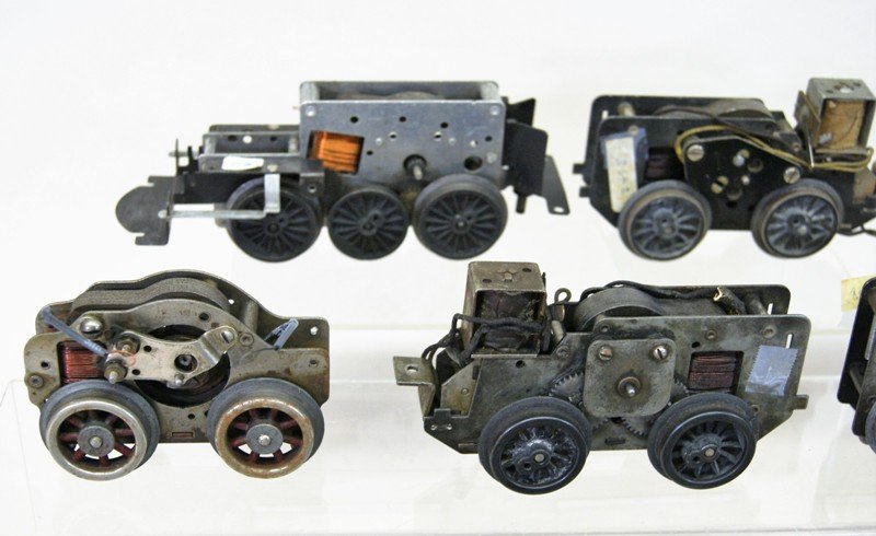 Lot of Nineteen Motors for Train Engines Mostly Lionel - 2