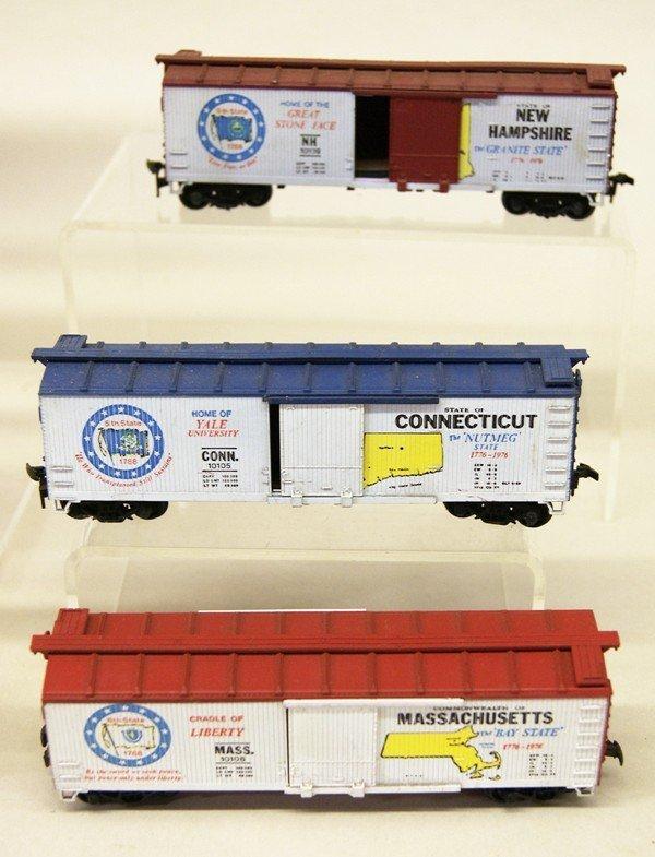 AHM HO Spirit of 76 Boxcar Set - 5