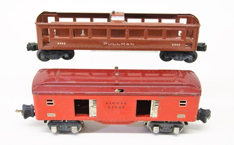 Lionel Lot of Tin Passenger Cars and Various Cabooses - 5