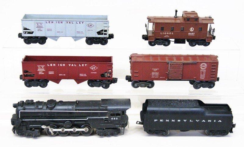 Lionel Post-war #582 Turbine Freight Set