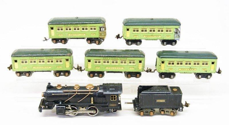 Lionel Pre-war #262 Passenger Set