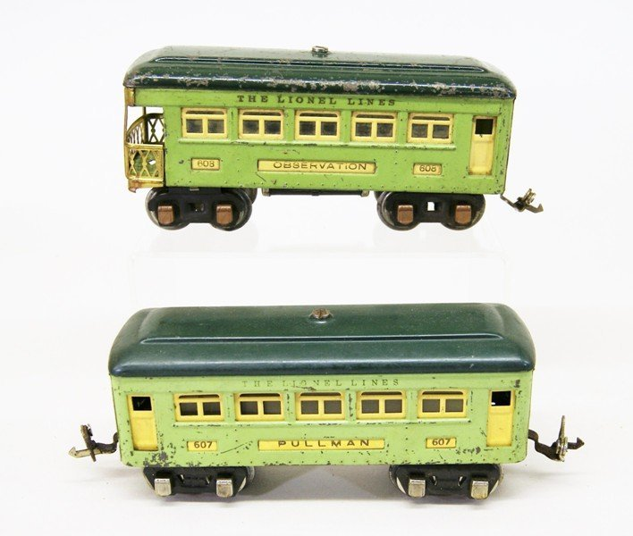 Lionel Pre-war #262 Passenger Set - 5