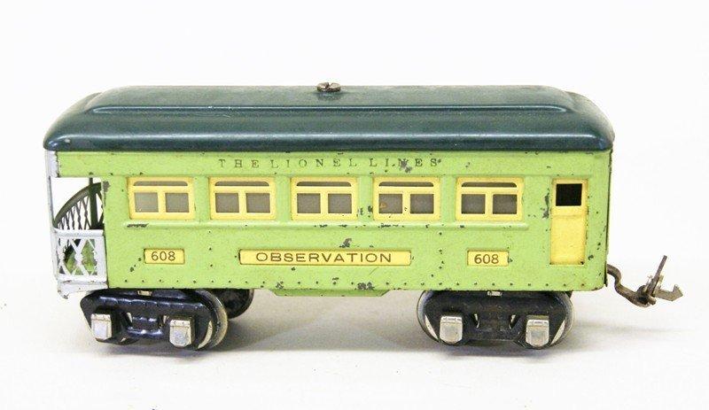Lionel Pre-war #262 Passenger Set - 6