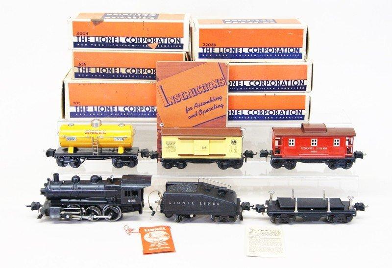 Lionel Pre-war #203 Freight Set
