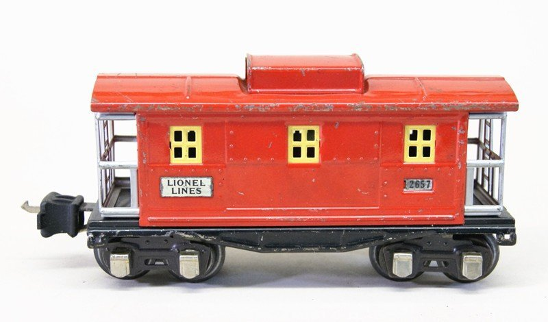 Lionel Pre-war 249e Freight Set Seven Pieces - 7