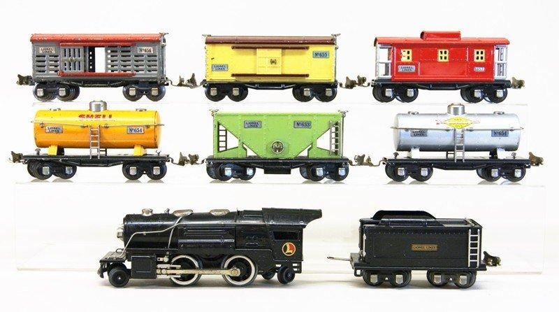 Lionel Pre-war 259e Freight Set