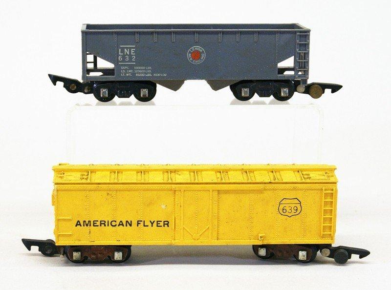 American Flyer 350 Royal Blue Freight Set - 4