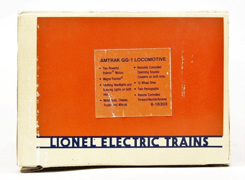 Lionel Amtrak GG-1 Locomotive 18303 - 3