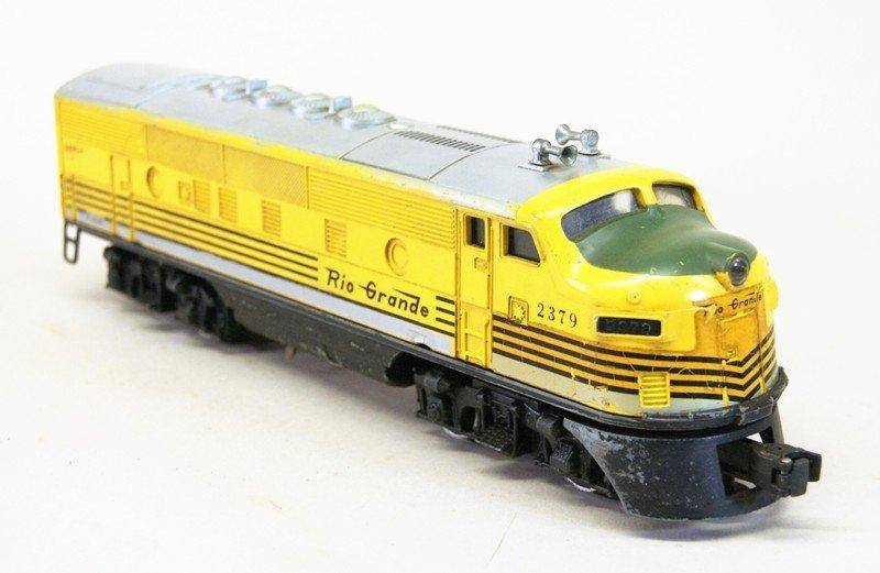 Lionel 2379 Rio Grande A-B Units - 3