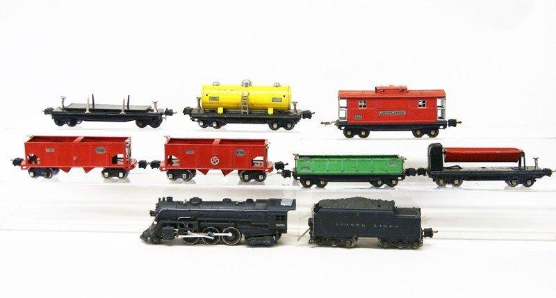 Lionel 226e Nine Piece Freight Set