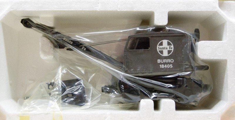 Three Lionel Modern Burro Cranes - 3