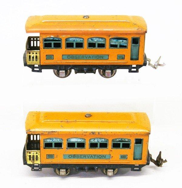 Two Lionel Pre-war Tin Plate Passenger Sets - 6