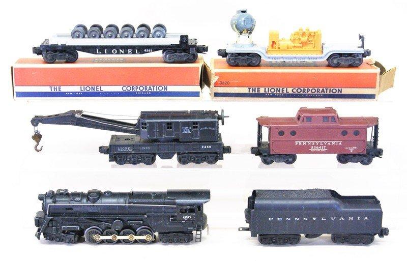 Lionel Post-war 681 Work Train