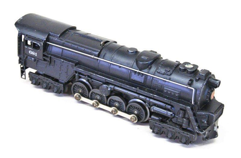 Lionel Post-war 681 Work Train - 2