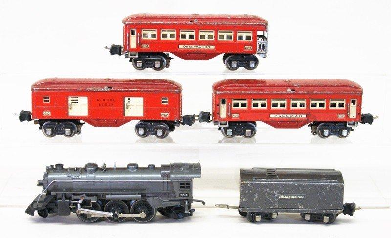 Lionel 224e Passenger Set