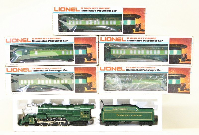 Lionel Southern Crescent Passenger Set Seven Pieces