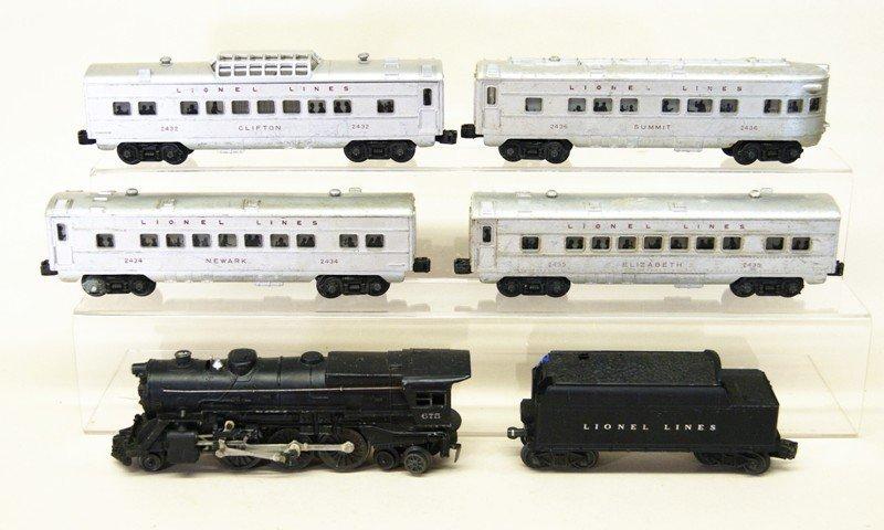 Lionel 675 Six Piece Passenger Set