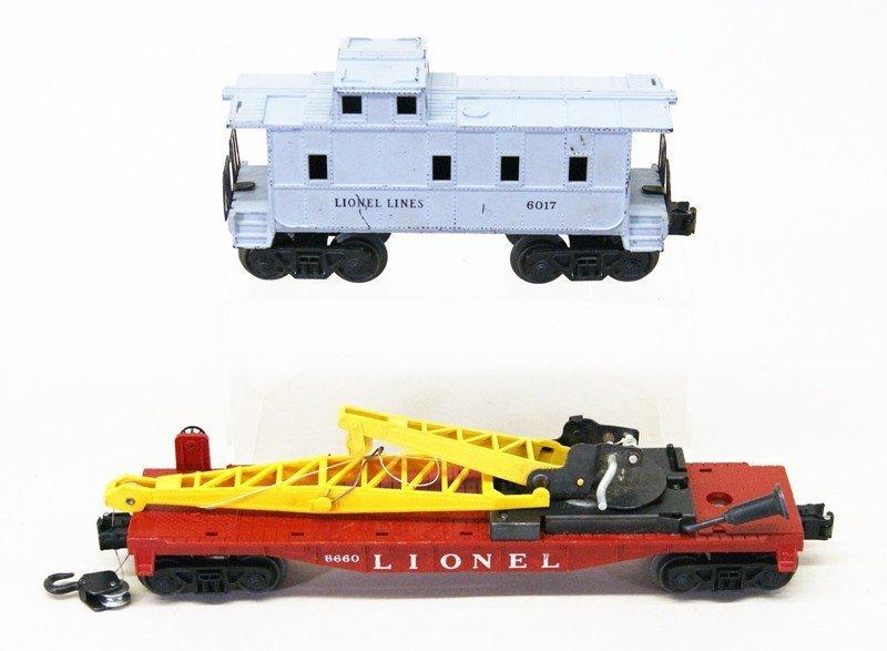 Lionel Post-war 228 Freight Set Seven Pieces - 5