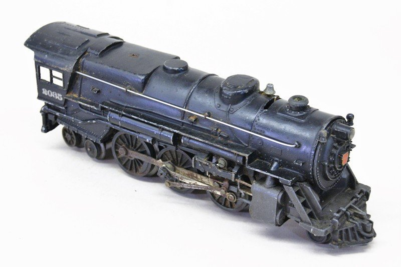 Lot of Three Lionel Steam Locomotives with Tenders - 2