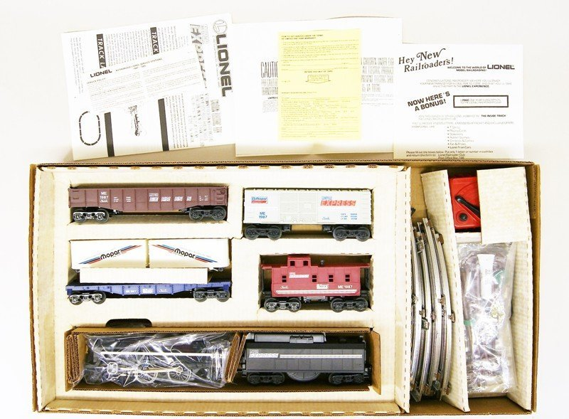 Lionel Mopar Express Train Set in Original Box - 2