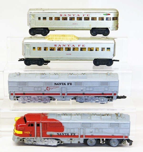 Two Marx O Gauge Train Sets, Freight & Passenger - 2