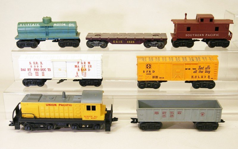 Two Marx O Gauge Train Sets, Freight & Passenger - 3