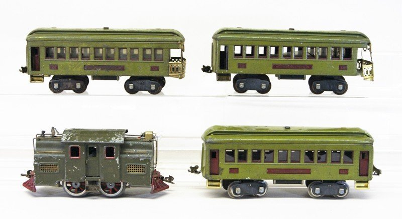 Lionel Pre-war #33 Passenger Set and miscellaneous
