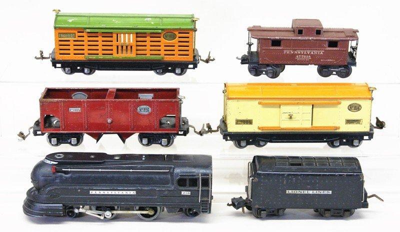 Lionel Pre-war 238 Freight Set