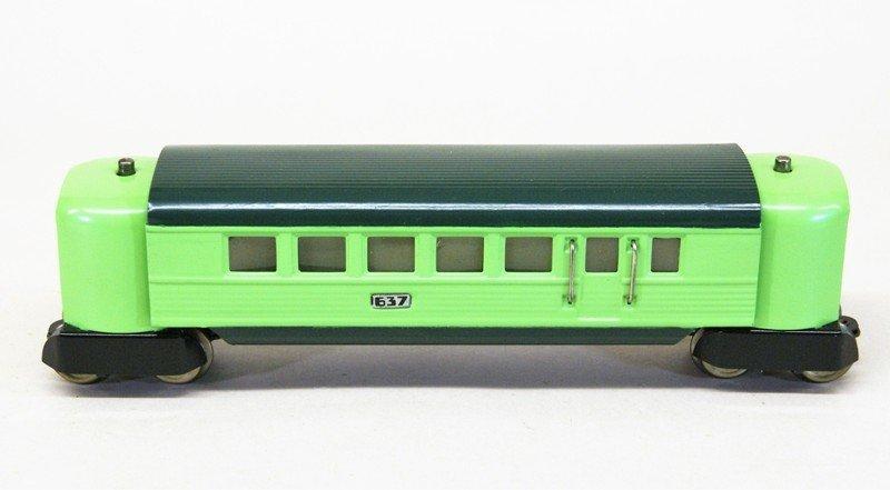 Lionel Pre-war 635W City of Denver Passenger Set - 3