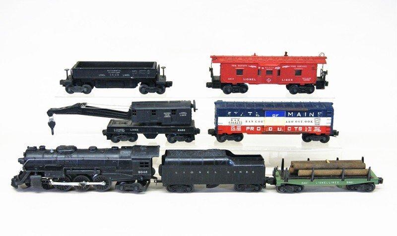 Lionel Post-war 2046 Freight Set