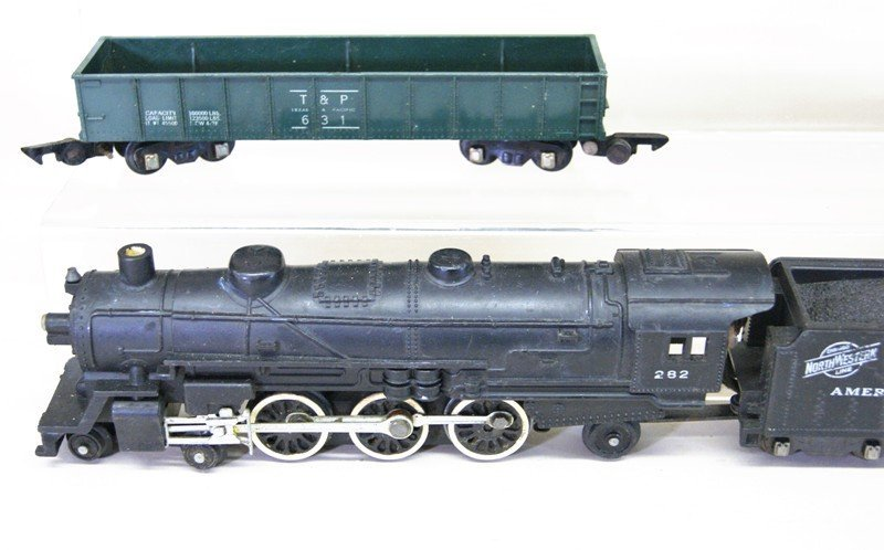 Pair of American Flyer S Gauge Freight Sets - 2