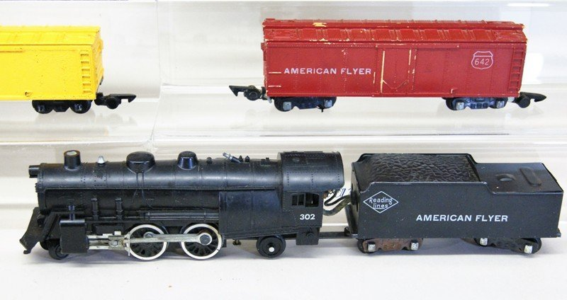 Pair of American Flyer S Gauge Freight Sets - 3