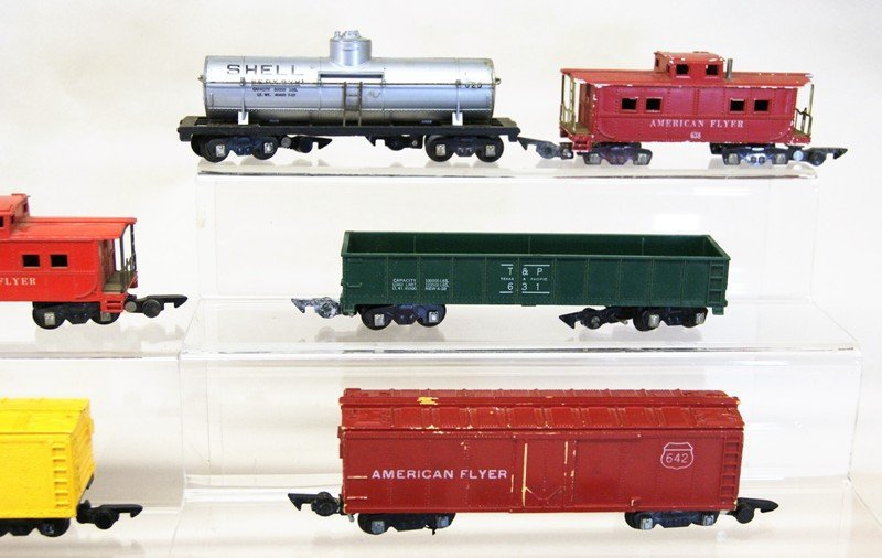 Pair of American Flyer S Gauge Freight Sets - 4