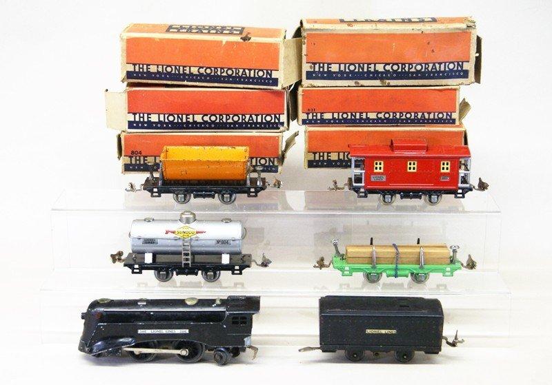 Lionel Pre-war 289e Freight Set - 2
